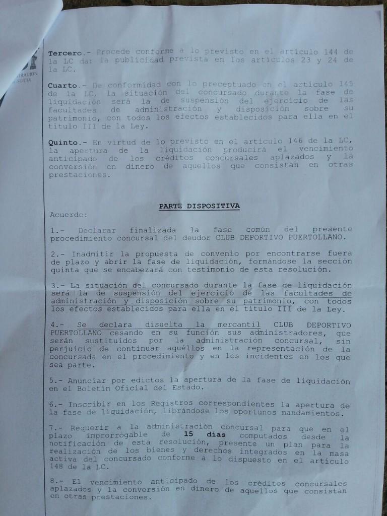 La juez declara disuelta la sociedad mercantil cd for Juzgado de puertollano