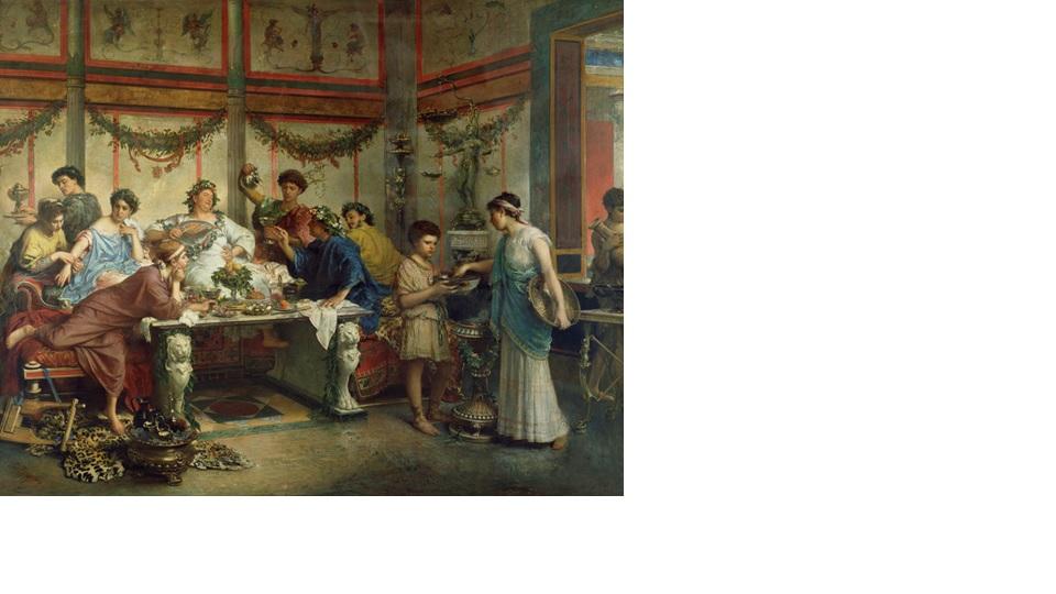 Mitología aparte, parece ser que los romanos comenzaron a celebrar las Saturnales a raíz de la derrota sufrida por su ejército en la batalla del lago Trasimeno en el 217 a.C.