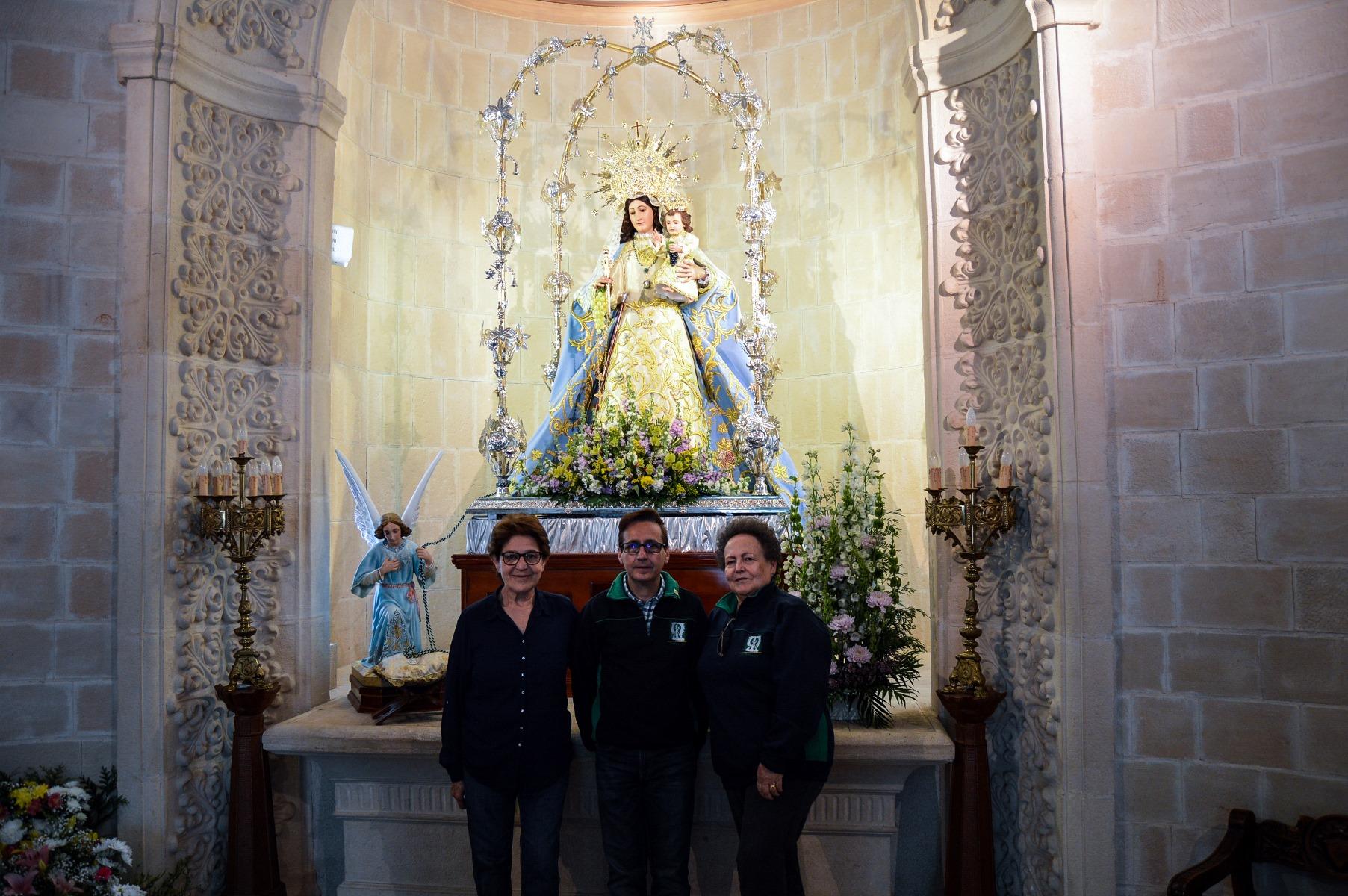 La Virgen De Las Viñas Luce Radiante Para La Romería 2018 Lanza Digital Lanza Digital