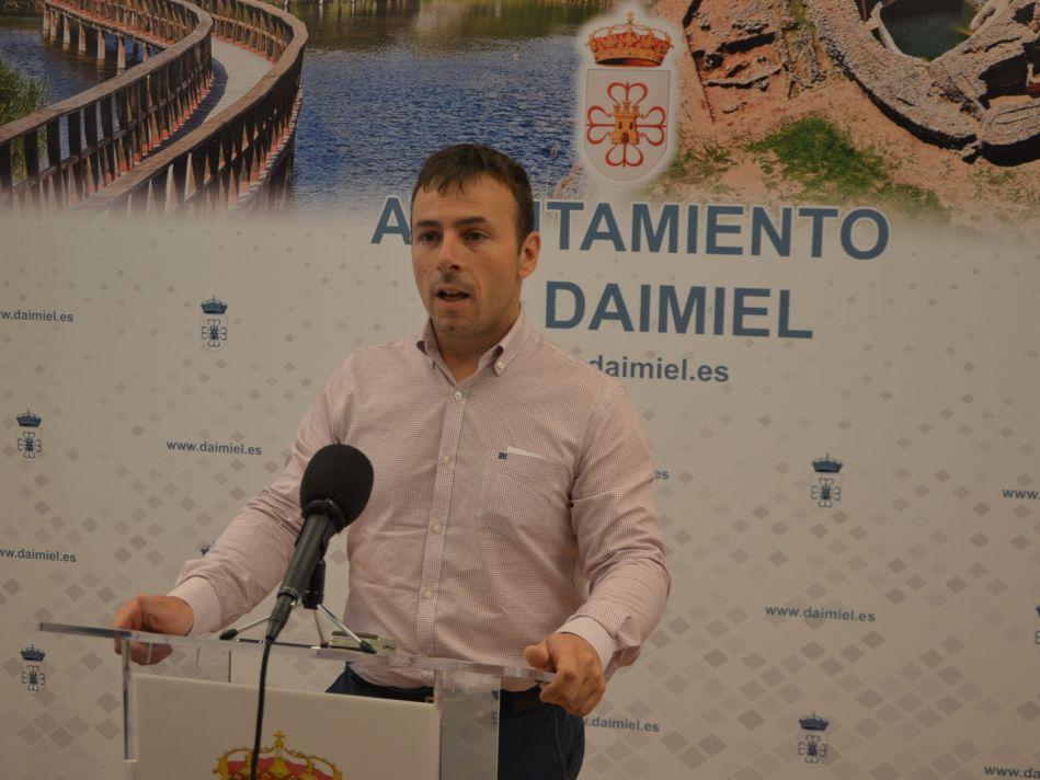 El concejal de Urbanismo de Daimiel, Javier Fisac