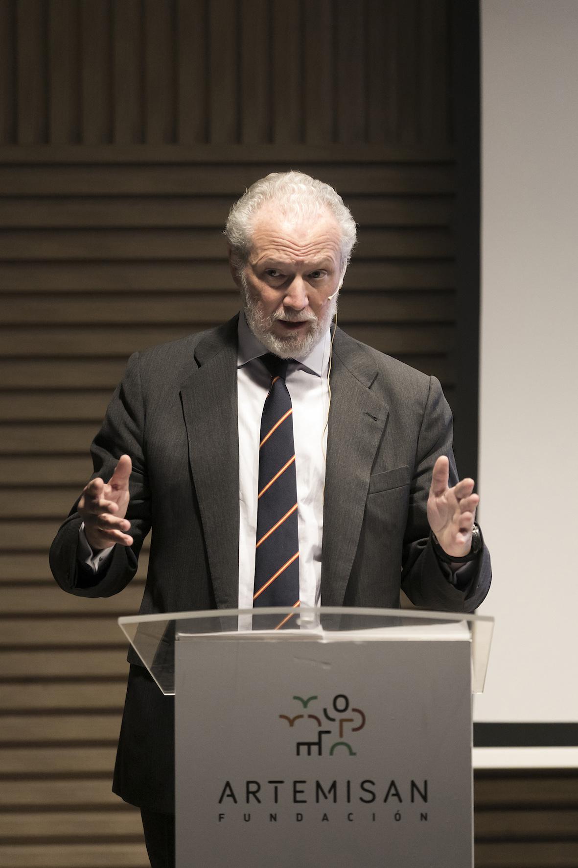 El presidente de la Fundación Artemisan, José Luis López-Schümmer / Lanza