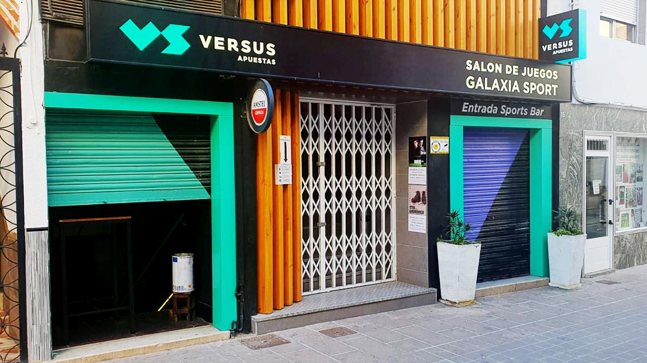 Salón de apuestas de Raquel Aranda en Bolaños de Calatrava / Lanza