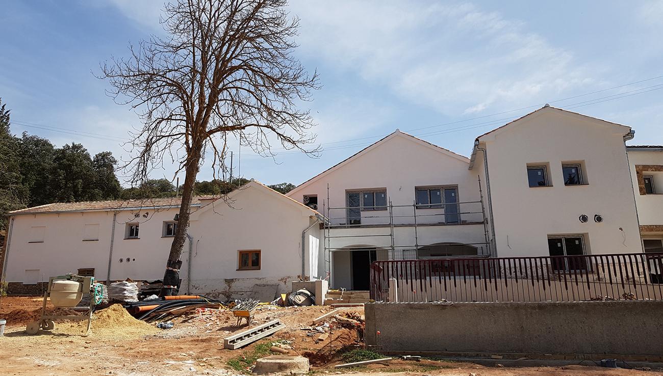 Obras del nuevo centro de visitantes que abrirá a finales de junio o primeros de julio / PN Ruidera